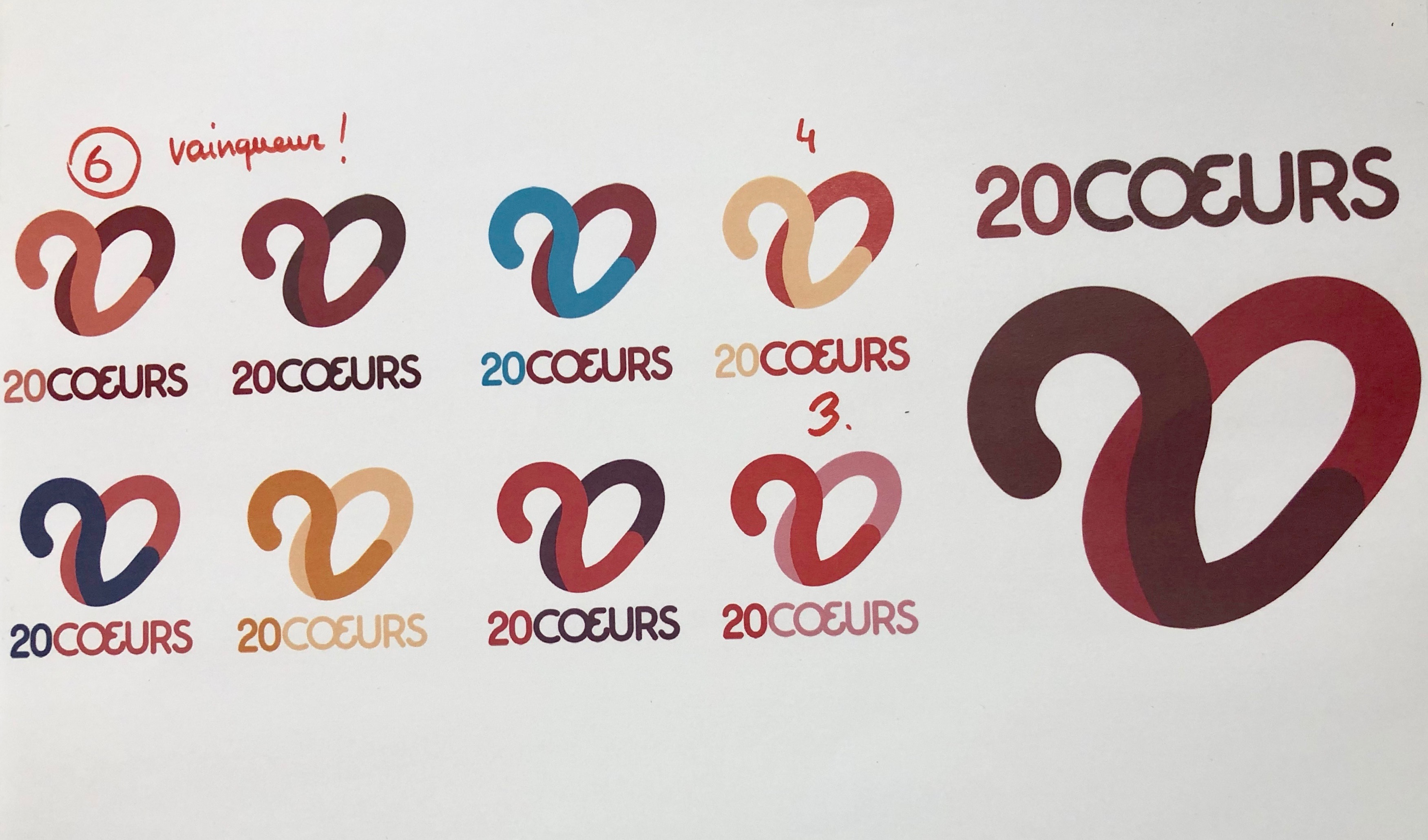 réflexion sur le logo